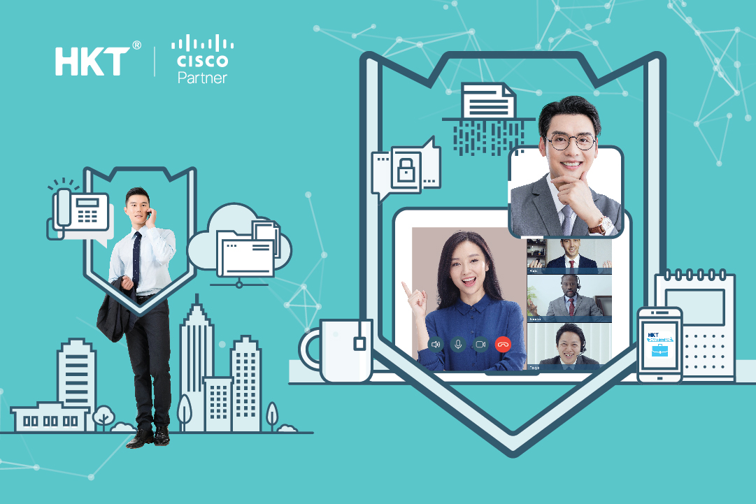 HKT - Secure Virtual Workspace Solutions - Secure Collaboration and  Connection for the New Normal</br